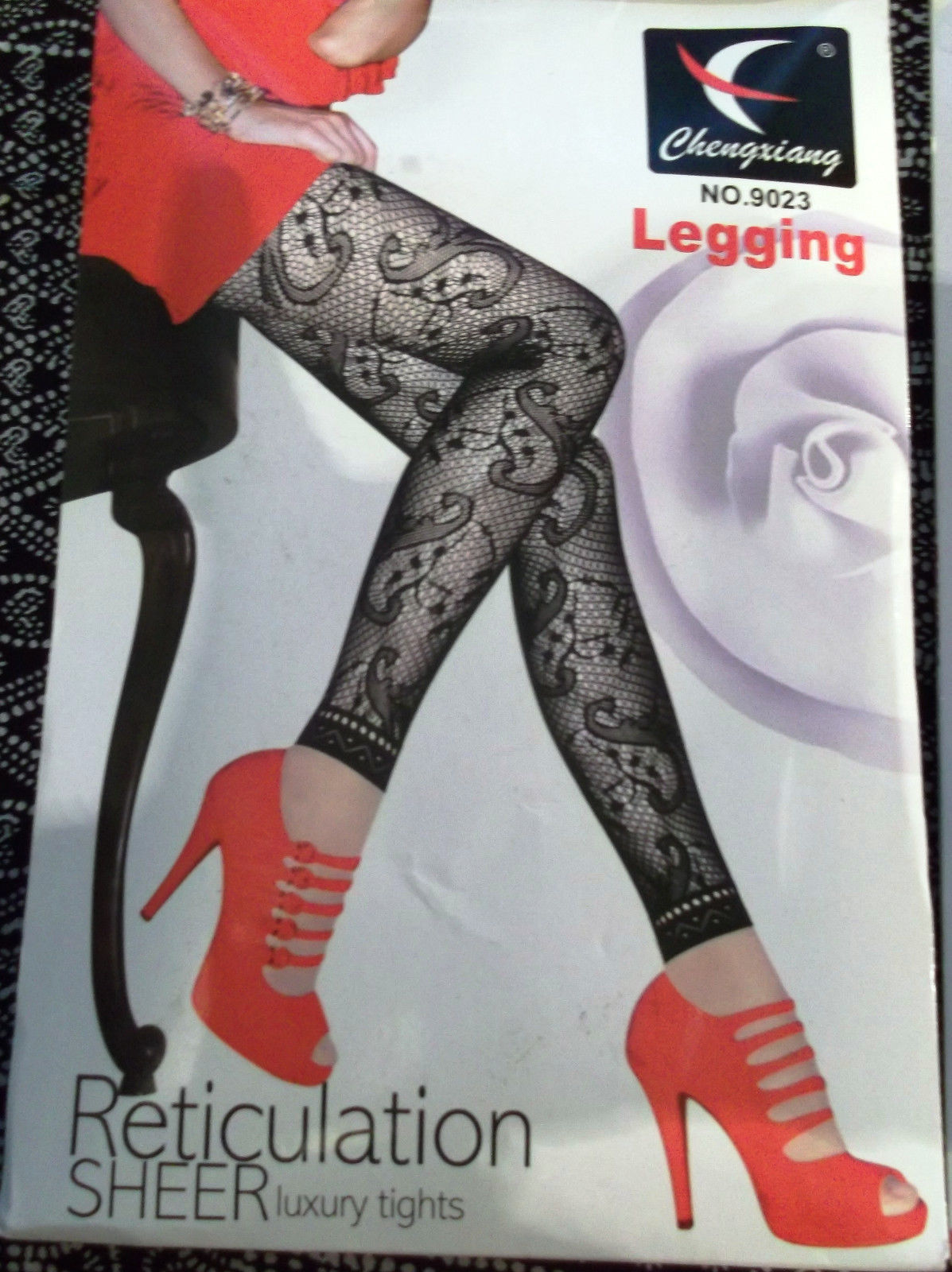 55e1cf698 FUNKY black fishnet footless Tights with and 11 similar items