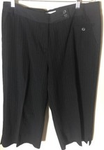 Uniform by John Paul Richard Women's Stretch Dress Shorts Size 14 Pin St... - £7.08 GBP