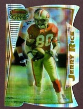1996 Bowman's Best Cuts Atomic Refractor #BC10 Jerry Rice San Francisco 49ERS - $34.60