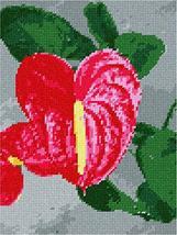 pepita Flamingo Flower Needlepoint Canvas - $39.60