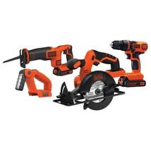 Black & Decker BD4KITCDCRL 20V MAX Drill/Driver Circular and Reciprocati... - $134.64