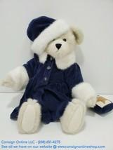 """Boyd's Bear Alexis Berriman Snow Queen 17"""" White Plush w/Winter Velvet G... - $16.83"""