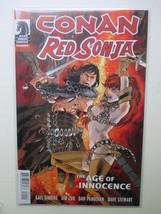 Conan Red Sonja #1 2015 Dynamite Dark Horse Comic Simone Zub Panosian Stewart - $3.00