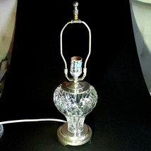 1 (One) Waterford Clodagh Accent Lamp Cut Lead Crystal With Tag - Signed - $248.63