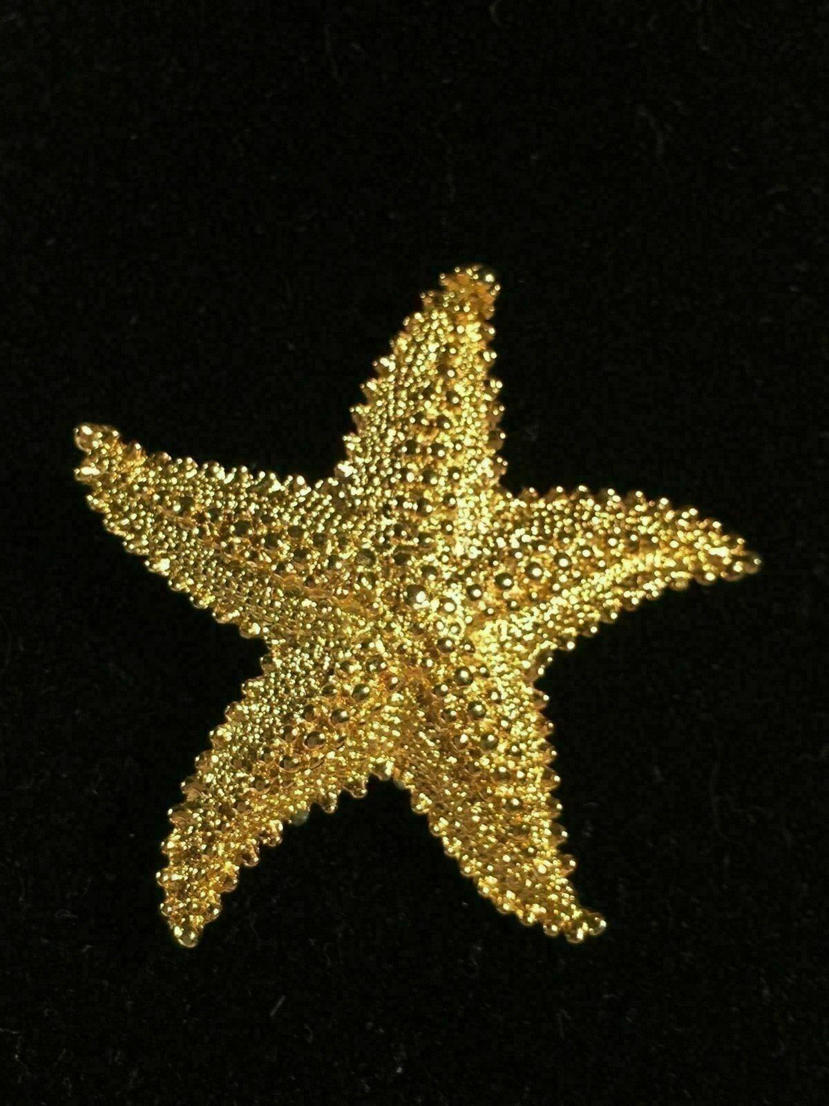 Gerrys Gold Tone Vintage Starfish Brooch