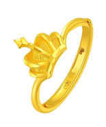 ZZZ New Hot Sell Women's 24k Pure gold rings with - $448.99