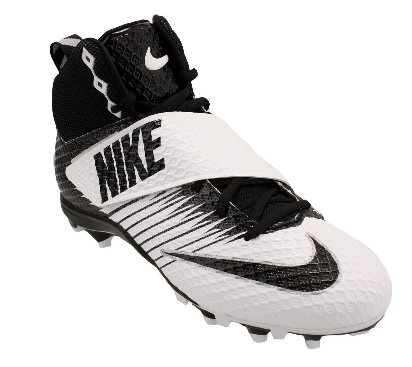7087bb884 S l1600. S l1600. Previous. Nike LunarBeast STRIKE PRO Football Cleats  833421-100 Black   White Size 14