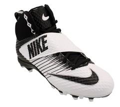 Nike LunarBeast STRIKE PRO Football Cleats 833421-100 Black & White Size 14 - $44.54
