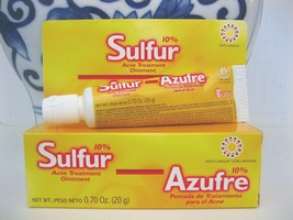 GRISI 10% Azufre Sulfur Acne &  Pimple Ointment Cream 20g - $6.92