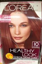 Loreal Healthy Look Creme Gloss Color 5R Medium Reddish Brown Cherry Truffle - $14.17