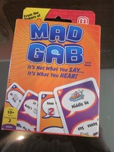 MAD GAB CARD GAME BRAND NEW - $9.99