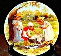 """1984 """"Office Hours"""" by Jeanne Down Plate with Box ( Knowles ) AA20-CP219... - $59.95"""