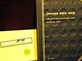 Lincoln Head Cent Book 2 Compete Collection AA19-CN19P6002 image 6