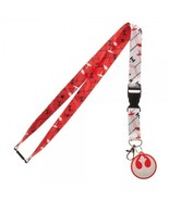 Star Wars Tie Fighters X-Wing Rebel Alliance ID Badge Holder Keychain La... - $11.50