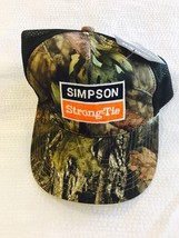 Brand New Realtree Camp Simpson Strong Tie Q Tech Performance Hat Cap W ... - $24.75