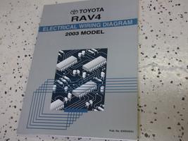 2003 Toyota RAV4 Rav 4 Electrical Wiring Service Shop Repair Manual Factory - $44.50