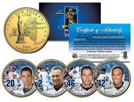 YANKEES CORE FOUR Statehood NY Quarters 4-Coin Set JETER MARIANO POSADA ... - $12.16