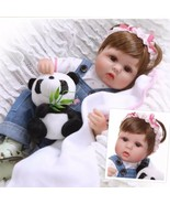 Real Life 17' Reborn Baby Girl Doll With birth certificate - $53.46
