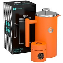 Coffee Gator French Press Brewer - Hotter-for-Longer Insulated Thermal C... - $51.32