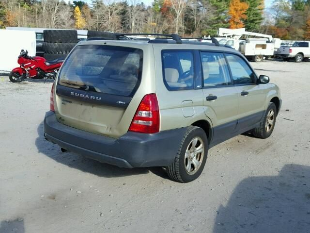 AUTOMATIC TRANSMISSION FITS 03 FORESTER 221213