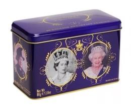 The Queens 40 Tea Bag Collectors Tin Royal Elizabeth II 2nd Jubilee 90 B... - £14.22 GBP