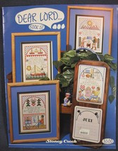 Stoney Creek Book 57 DEAR LORD Counted Cross Stitch Pattern Collection 1988 - $5.00
