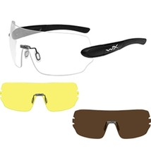 Wiley X Detection Sunglasses - Clear, Yellow & Copper - $142.43