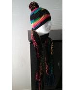 Multi Color Handmade Scarf & Hat Set - $50.00