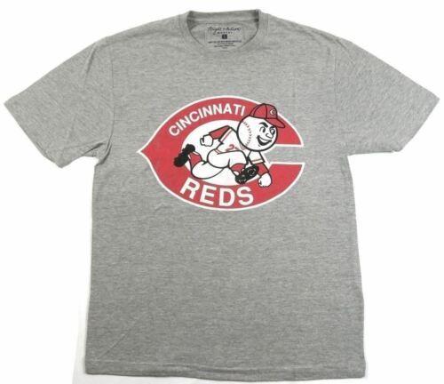 Small Men's Cincinnati Reds Tee Shirt MLB Vintage T-Shirt Wright & Ditson Gray