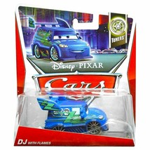 Disney/Pixar Cars 2012 Tuners Die-Cast DJ with Flames #3/10 1:55 Scale - $18.37