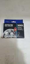 EXP 2022 ONE Epson 200XL Black Ink Cartridge OEM Original Genuine  - $22.99