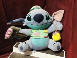 Disney Japan Sega Prize Collection Lilo & Stitch Painter Stuffed Toy Rar... - $126.72