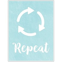 Repeat Laundry Decor Wall Art Poster - $22.28