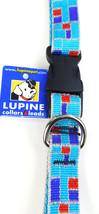 "Lupine 3/4' Dog Collar Adjustable 15-25""  ""CITY LIGHTS"" - $11.59"