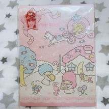 Sanrio Vintage Kikirara Little Twin Stars Yukorin Collaboration Notepad ... - $78.30