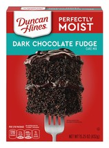 Duncan Hines Classic Dark Chocolate Fudge Moist Cake Mix - 15.25 Oz. - $10.72