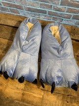 Blue Paws Animal Feet House Shoes Slippers NEW Size Large Men's - $19.69 CAD