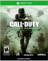 CALL OF DUTY:MODERN WARFARE REMASTERED  - Xbox One - (Brand New) - $49.92