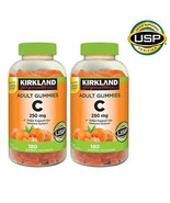 NEW Kirkland Signature Vitamin C 250 mg., 360 Adult Gummies **FREE SHIPP... - $21.99