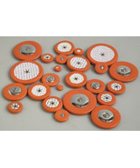 Flute Hole Pads Jingmeide Assorted Lot of 24 New - $4.90