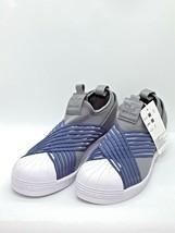 adidas Originals Superstar Slip On Grey Raw Indigo Night Cargo Women Sho... - $84.14
