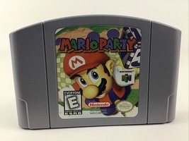 Nintendo 64 Mario Party Game Pak Video Game N64 Super Mario Bros Vintage 1997 E - $40.05