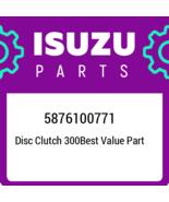 5876100771 Isuzu Disc clutch 300best value part 5876100771, New Genuine ... - $122.55