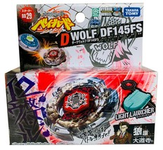Takara Tomy Dark Wolf DF145FS Metal Beyblade BB-29 - Usa Seller - $16.82
