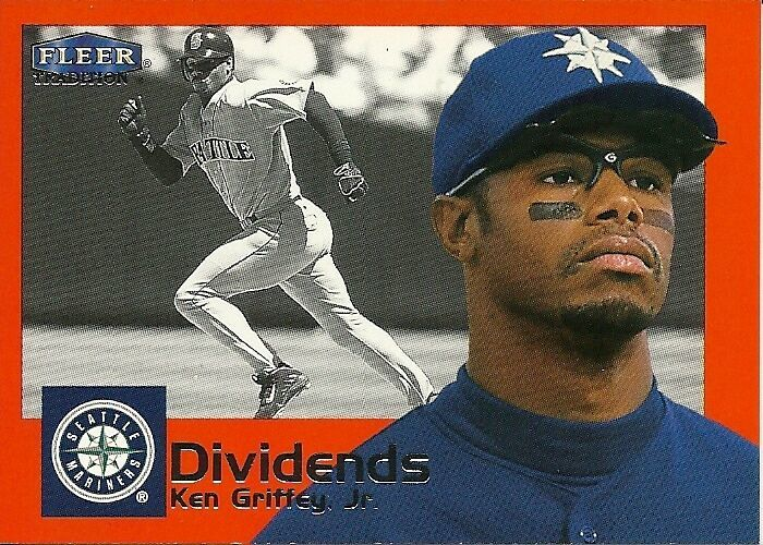2000 Fleer Tradition Dividends Complete set 1-15