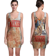 The A-Team (80's Tv show) Women Sexy  Bodycon Fit Dress - $19.80+