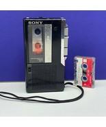 Sony microcassette recorder M-7 vintage electronics 038-11 japan vtg cas... - $54.45