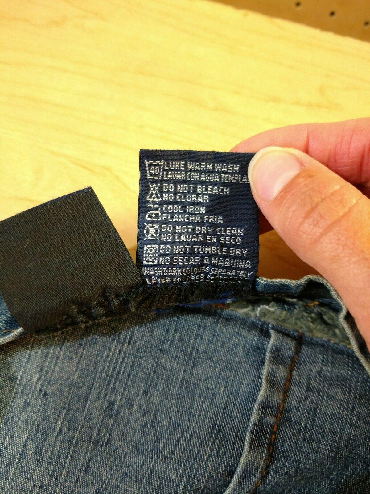 Vtg RT JEANS CO Denim Skirt Long Modest Sz 34 Fits Small Medium Blue Jean Maxi image 12