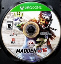 Madden NFL 15 (Microsoft Xbox One, 2014) *Disc Only - $1.95