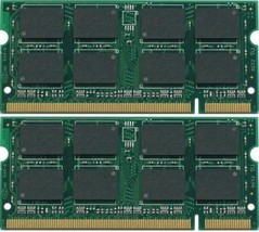2GB 2x1GB Sodimm PC2-5300 Laptop Memory For Acer Aspire 3100 Tested - $12.12